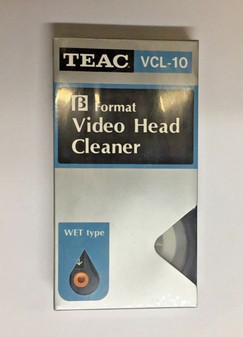 TEAC VIDEO HEAD CLEANER BETA WASHER VCL-10 VINTAGE