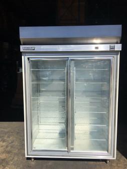 Hobart 2 Sliding Glass Door Refrigerator, IN EXCELLENT SHAPE!!!