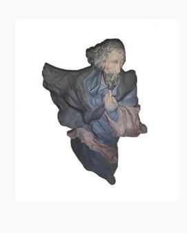 Lladro The Prophet 1743 Porcelain Figurine | Hand Made by Enrique Sanisdro
