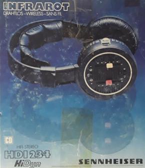 Vintage Sennheiser HDI234 HiDyn Wireless Headphones | Made in Germany (New!)