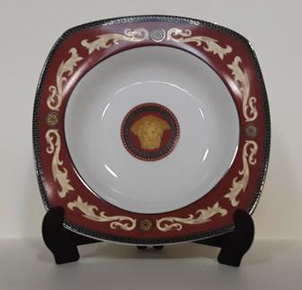 51pcs Versace Styled Fine Porcelain Square Dinner Set (BRAND NEW!)