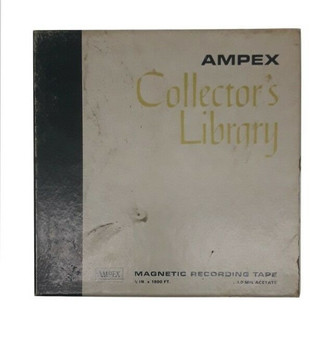 Vintage Ampex 921 Collector's Library Magnetic Recording Tape | Made in USA