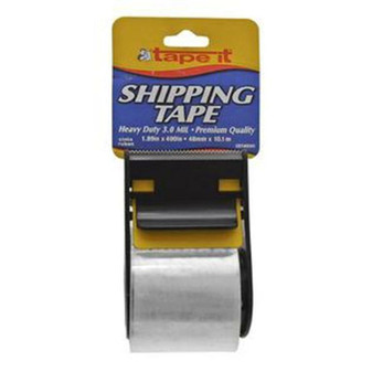 Shipping Tape With Dispenser, Pack of 54- 3.0 mil/1.89 in x 400 in SHIPS FREE!