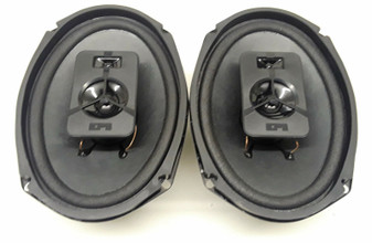 """(2) Epicure EPI LS66 Three Way 6"""" x 9"""" Car Speakers 