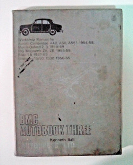 1969 Austin Cambridge Workshop Manual (1954 - 58) BMC Autobook 3
