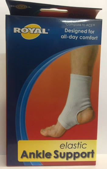2 NEW SPORT ANKLE Support Elastic Sleeve COMPRESSION Arthritis Pain Relief BRACE
