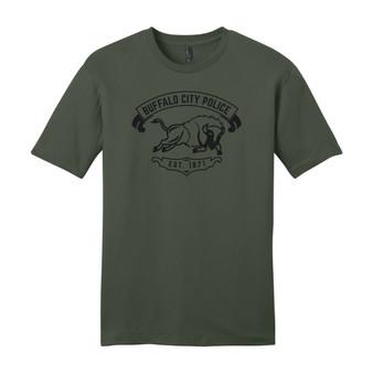 Charging Buffalo Police T Shirt