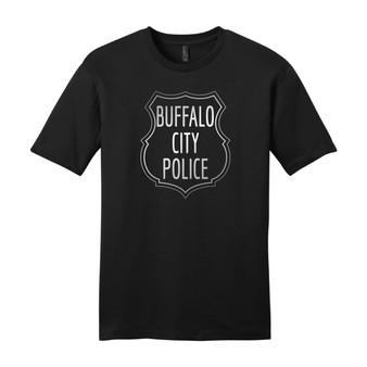 Retro Buffalo City Police T Shirt