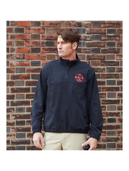 1/4 Zip Softshell Job Shirt
