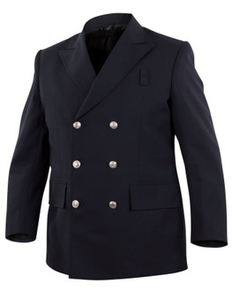 Top Authority Polyester Double-Breasted Blousecoat