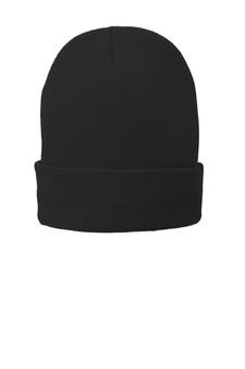 Fleece-Lined Knit Cap