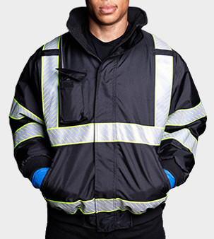 The Eclipse Line™ Bomber with Hideaway Hood