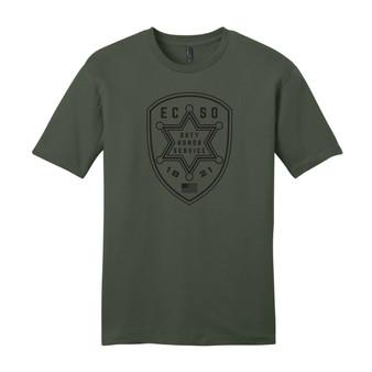 ECSO Patch Front T-Shirt
