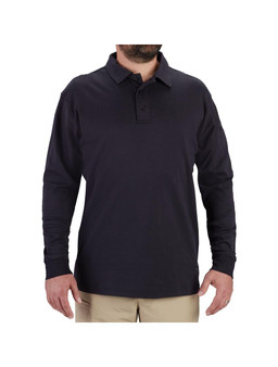 Men's Long Sleeve Uniform Cotton Polo