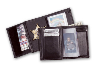 Trifold Wallet W/ Money Pocket