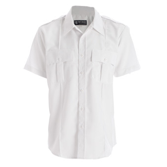 Men's Polyester Short Sleeve Uniform Shirt