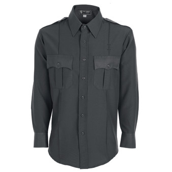 Men's Polyester Long Sleeve Uniform Shirt
