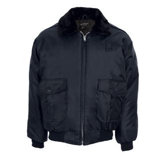 Nylon Police Bomber Jacket