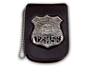 Recessed Neck Badge & ID Holder