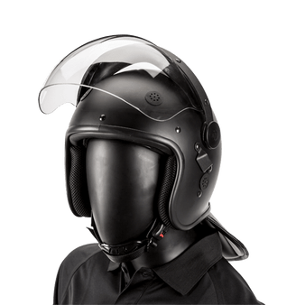 Bubble Face Shield Riot Helmet