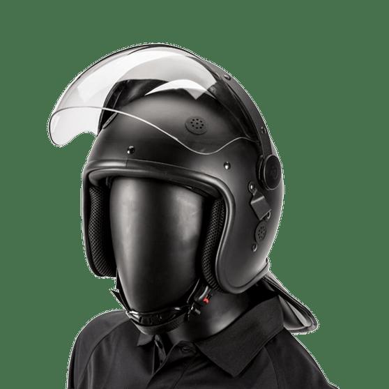 Bubble Face Shield Riot Helmet