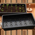 Pack of 10 Professional Seed trays. Full size, BLACK