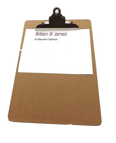 Pack Of 10 Heavy Duty A4 Clipboards.
