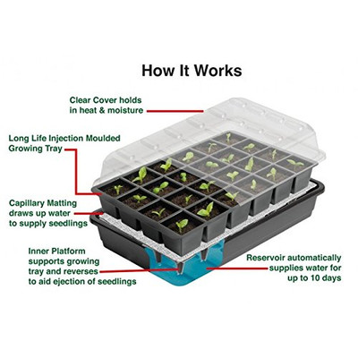 Sure Start Seed Starter Kit.