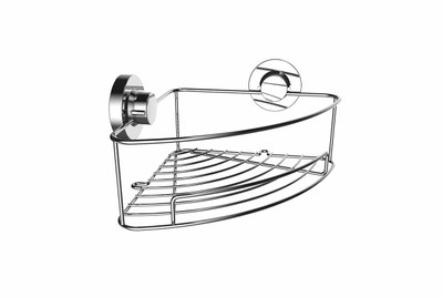 Superior Suction Fit Corner Shower Tidy