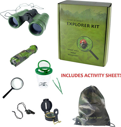 Outdoor Explorer Kit for KiChildren aged 3-10