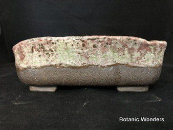 "High Fired Pot, Hand Made, 9.25""x7.5""x3"""