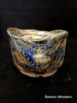 """High Fired Pot, Hand Made, 6.5""""x6.5""""x4.5"""""""
