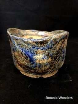 "High Fired Pot, Hand Made, 6.5""x6.5""x4.5"""