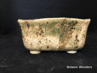 """High Fired Pot, Hand Made, 7.5""""x5.5""""x3"""""""