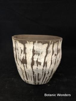 """Handmade pot by Susan Aach 5""""x5"""" round"""