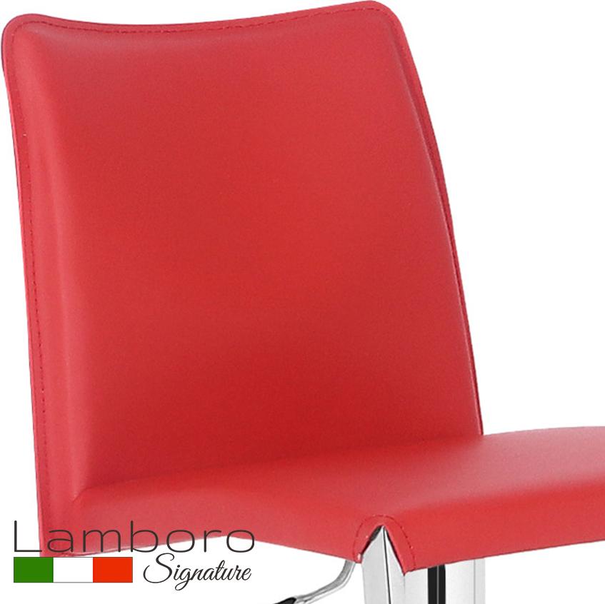 Eccellente Signature Bar Stool Red