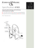 Perrin & Rowe Ionian 4183 Wall Mounted Kitchen Tap