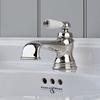Perrin & Rowe 3670 Monobloc Single Lever Basin Tap, Porcelain Handle