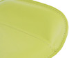 Favoloso Signature Real Leather Bar Stool Lime Green