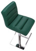 Deluxe Luscious Bar Stool Sage Green