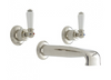 Perrin & Rowe 3560 Three Hole Basin Set Tap, Lever Handles