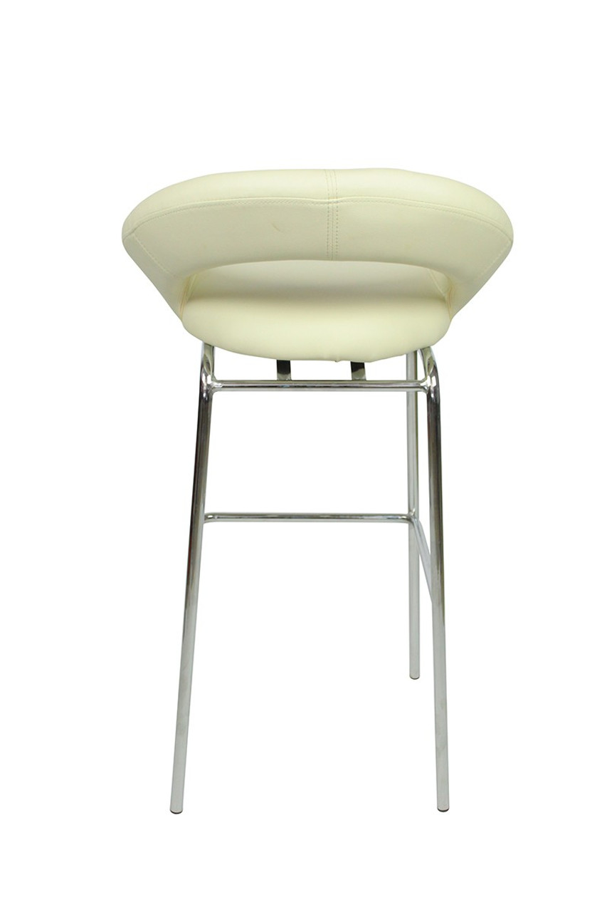 Enjoyable Sorrento Kitchen Fixed Height Bar Stools Cream Ocoug Best Dining Table And Chair Ideas Images Ocougorg