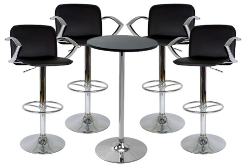Bueno Bar Stool and Como Table Package