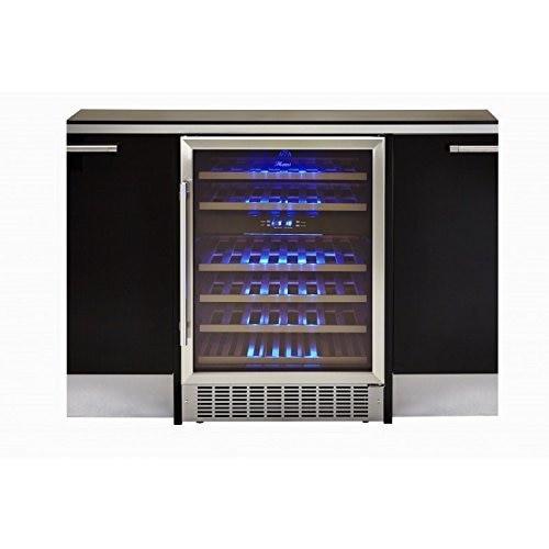 Hostess HW46MA 60cm Wine Bottle Dual Zone Cabinet