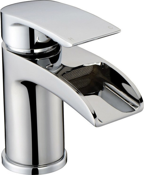 Flusso Waterfall Basin Mixer Tap