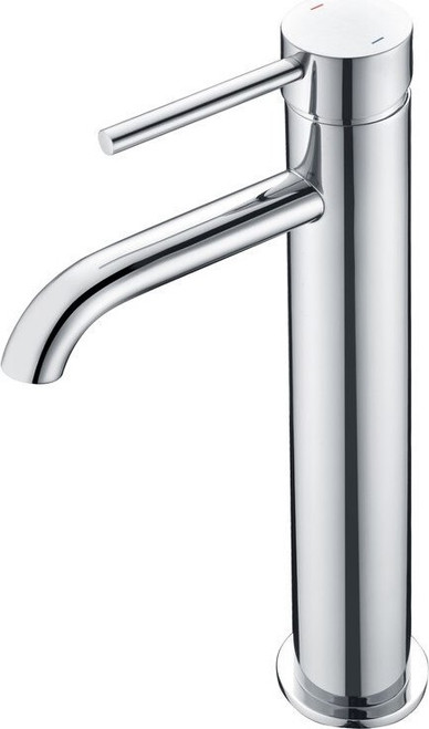 Pesca Tall Basin Mixer - Chrome