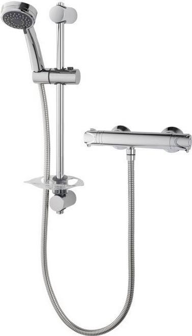 Triton Dene Cool-Touch Thermostatic Bar Mixer Shower - Chrome