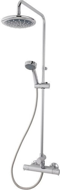 Triton Dene Thermostatic Bar Mixer Shower with Diverter - Chrome