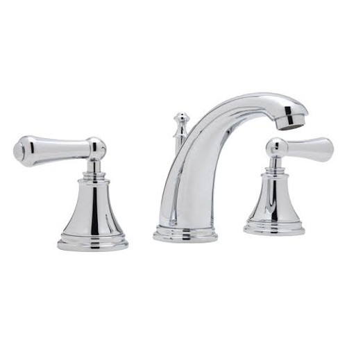 Perrin & Rowe 3712 Three Hole Mixer Set Tap, Lever Handles