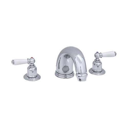 Perrin & Rowe 3255 Three Hole Mixer Set Tap, Lever Handles